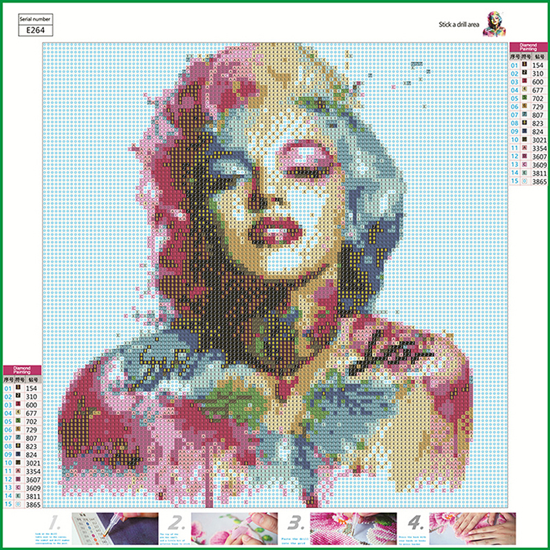 Zoo 5D Diamond Painting DIY Embroidery Cross Stitch Home Decor Needlework Craft