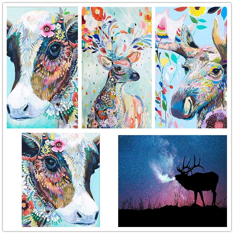 DIY 5D Full Drill Painting ANY Image Custom Hand Embroidery Kits Art Crafts Gift